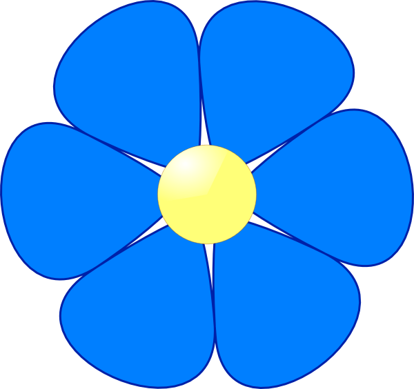 flower clip art - illustrations