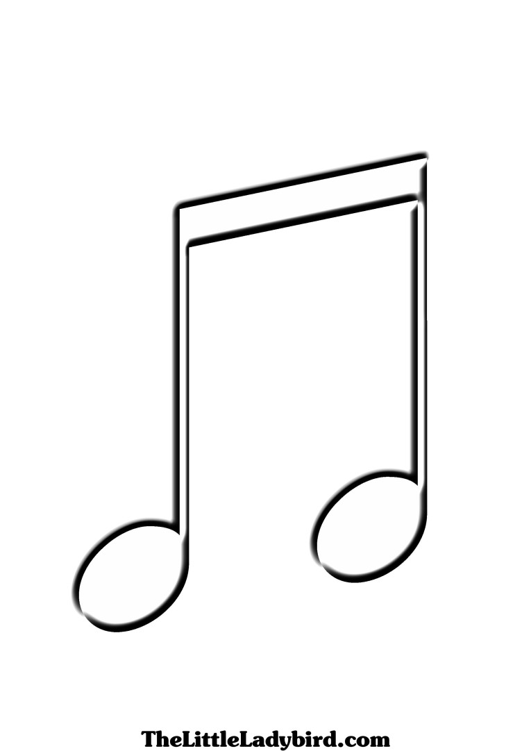 Music notes white music note clip art clipart image #3804