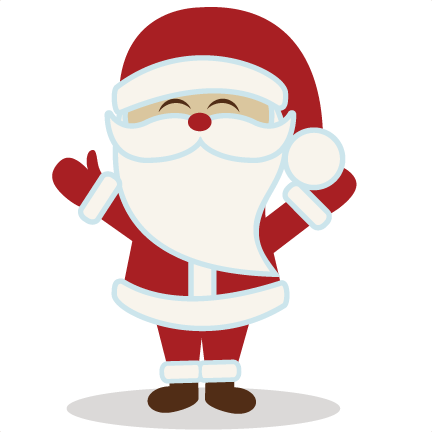 cute santa clipart christmas