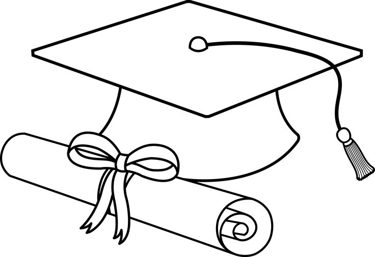 Graduation hat flying graduation caps clip art graduation