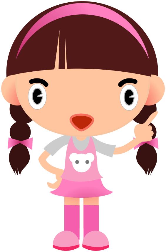 girl clip art - illustrations