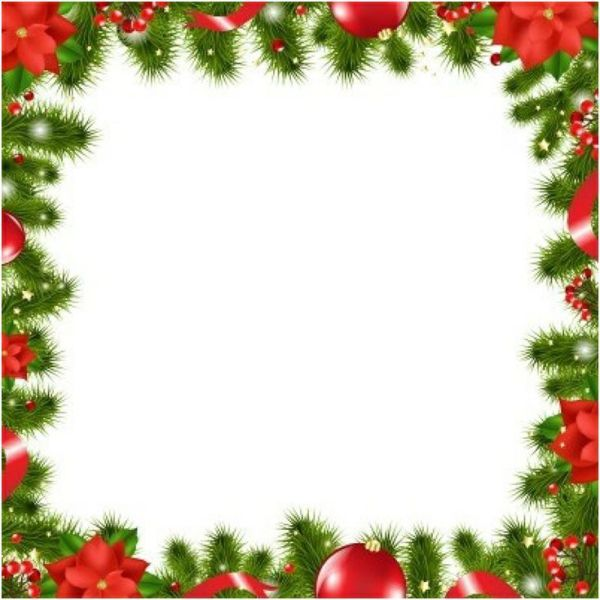 christmas borders paper