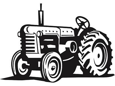 Tractor clipart vectors download free vector art image #13529