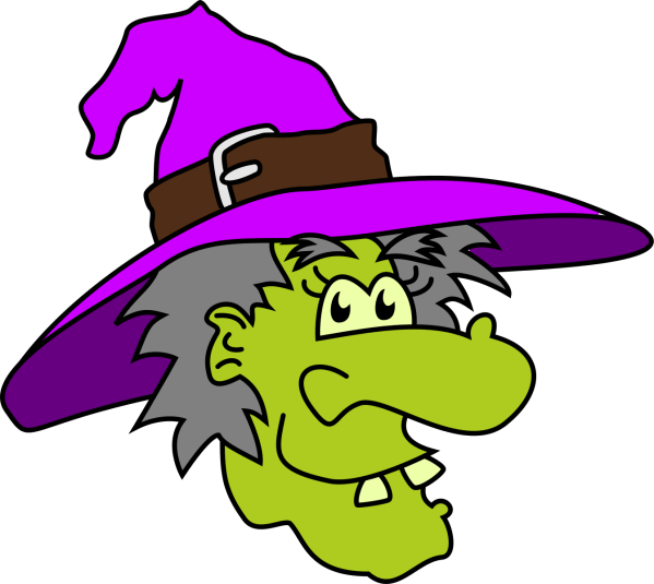 Halloween Witch Clipart 0 #13331