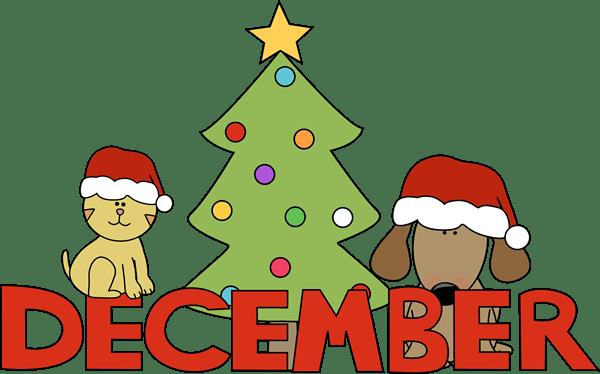 december clip art graphics