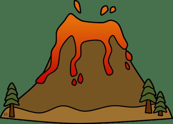 Volcano Clip Art Free