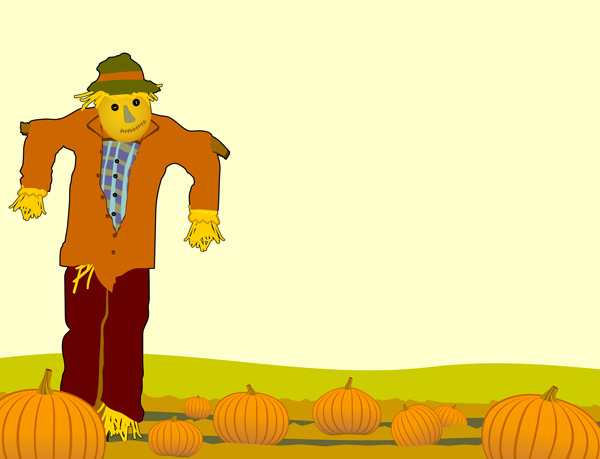 scarecrow clip art - illustrations