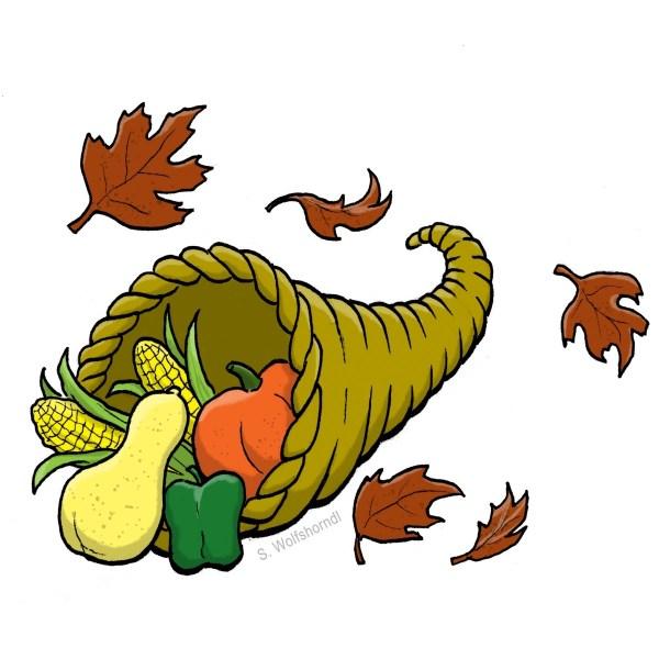 November Thanksgiving Clip Art Free