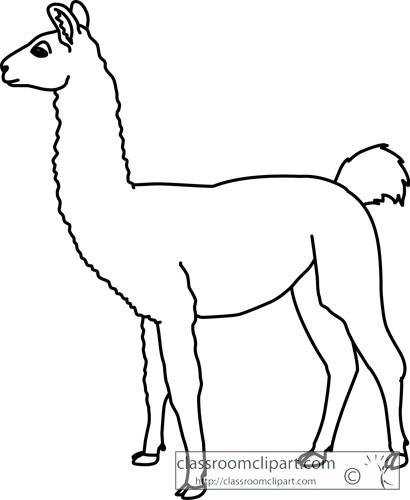 Llama clipart 9 image #20431