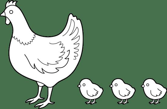 Hen chicken in nest clip art high quality clip art image