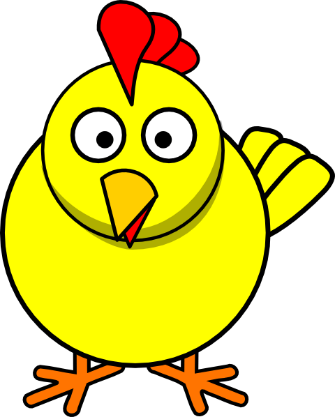 cartoon chick clip