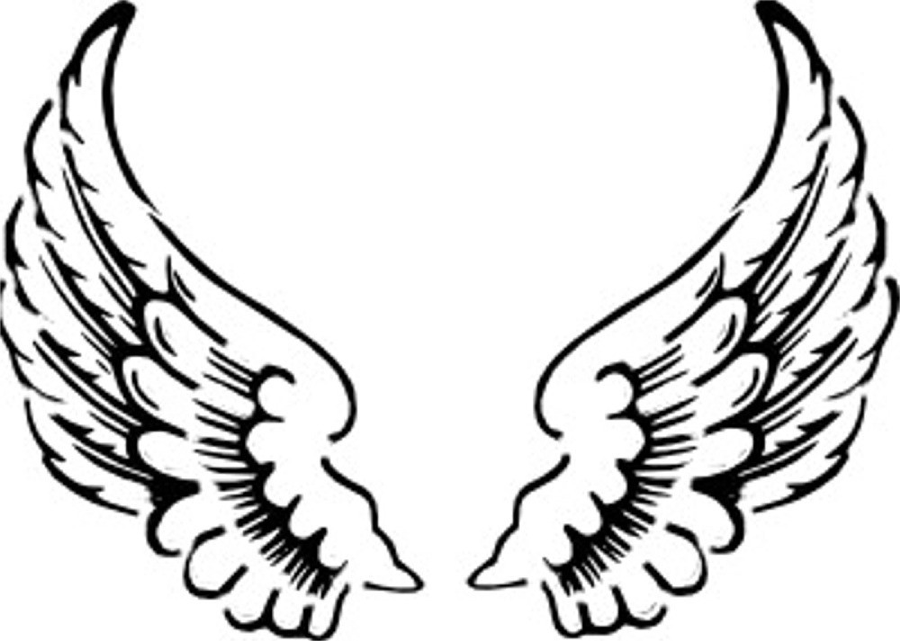Angel wings free clipart images image #23882