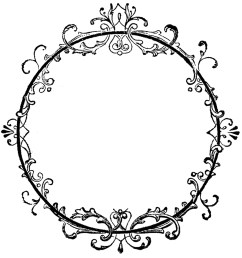 fancy oval frame clip art free clipart images [ 1350 x 1425 Pixel ]