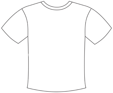 Football jersey football shirt outline worked for you