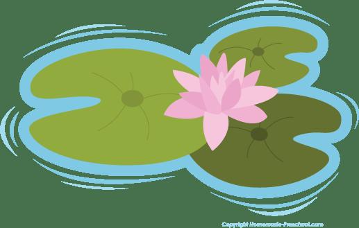 frog lily pad clip art