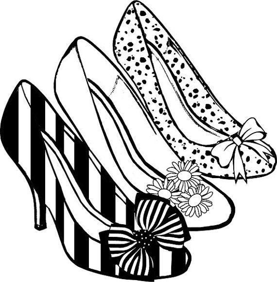 High heel shoes women fashion clip art free vector in open