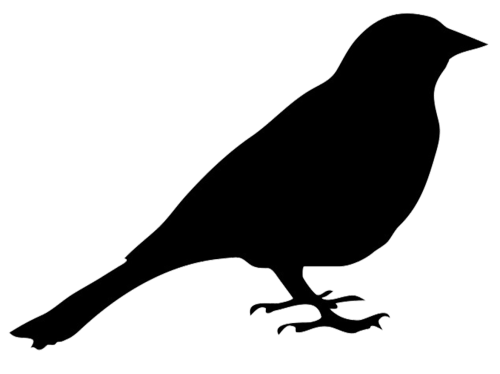 small resolution of bird silhouettes clipart clipart