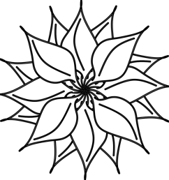 flower black and white flowers clipart black white free clipart business book [ 1007 x 1000 Pixel ]