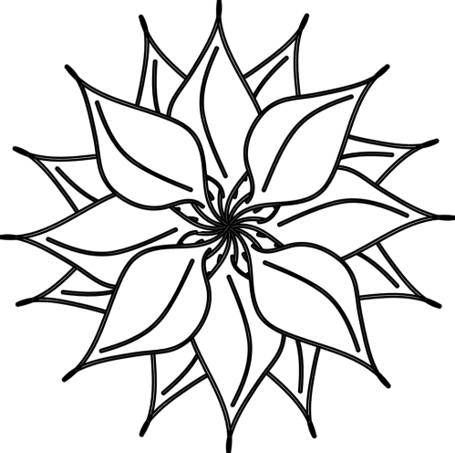 small resolution of flower black and white flowers clipart black white free clipart business book