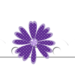 flower border downloadable all things positively positive clipart [ 3402 x 600 Pixel ]