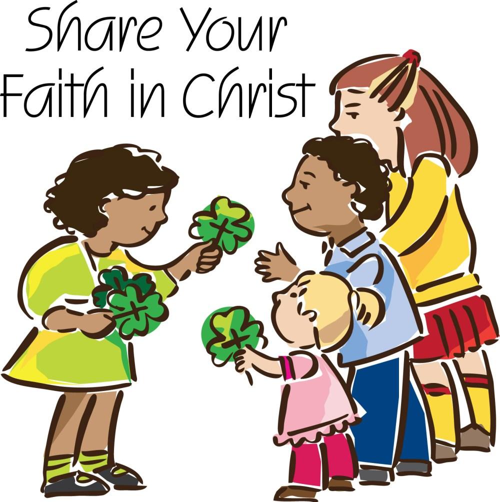 medium resolution of sunday school faith clipart co
