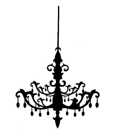 Chandelier Clip Art Good For Small Home Remodel Ideas With