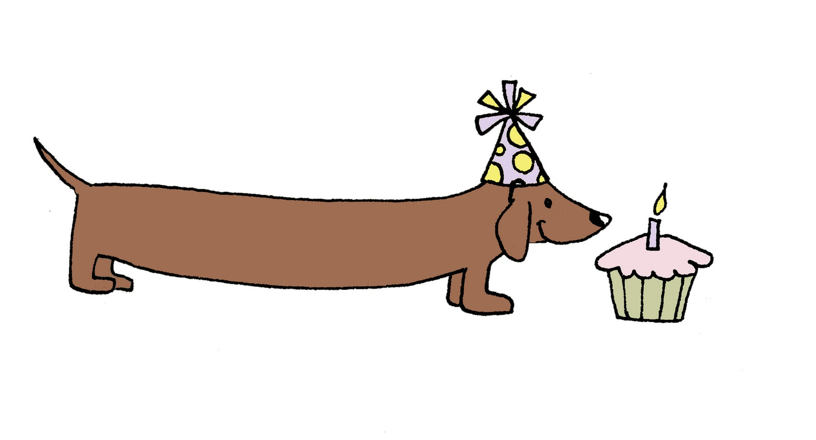 hight resolution of dachshund 0 images about hugs on belated birthday card clip art