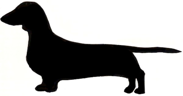 dachshund clipart vector and free