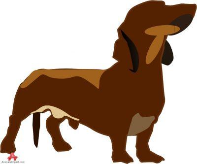 dachshund dogs animals clipart