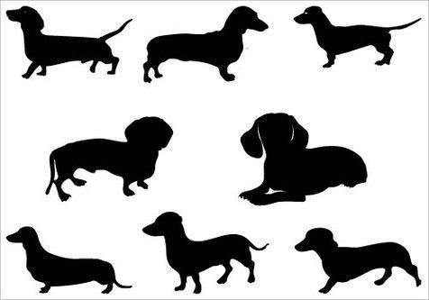 free dachshund clipart #41404