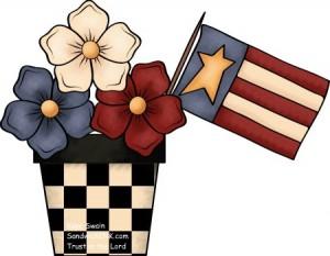 patriotic borders clip art clipart