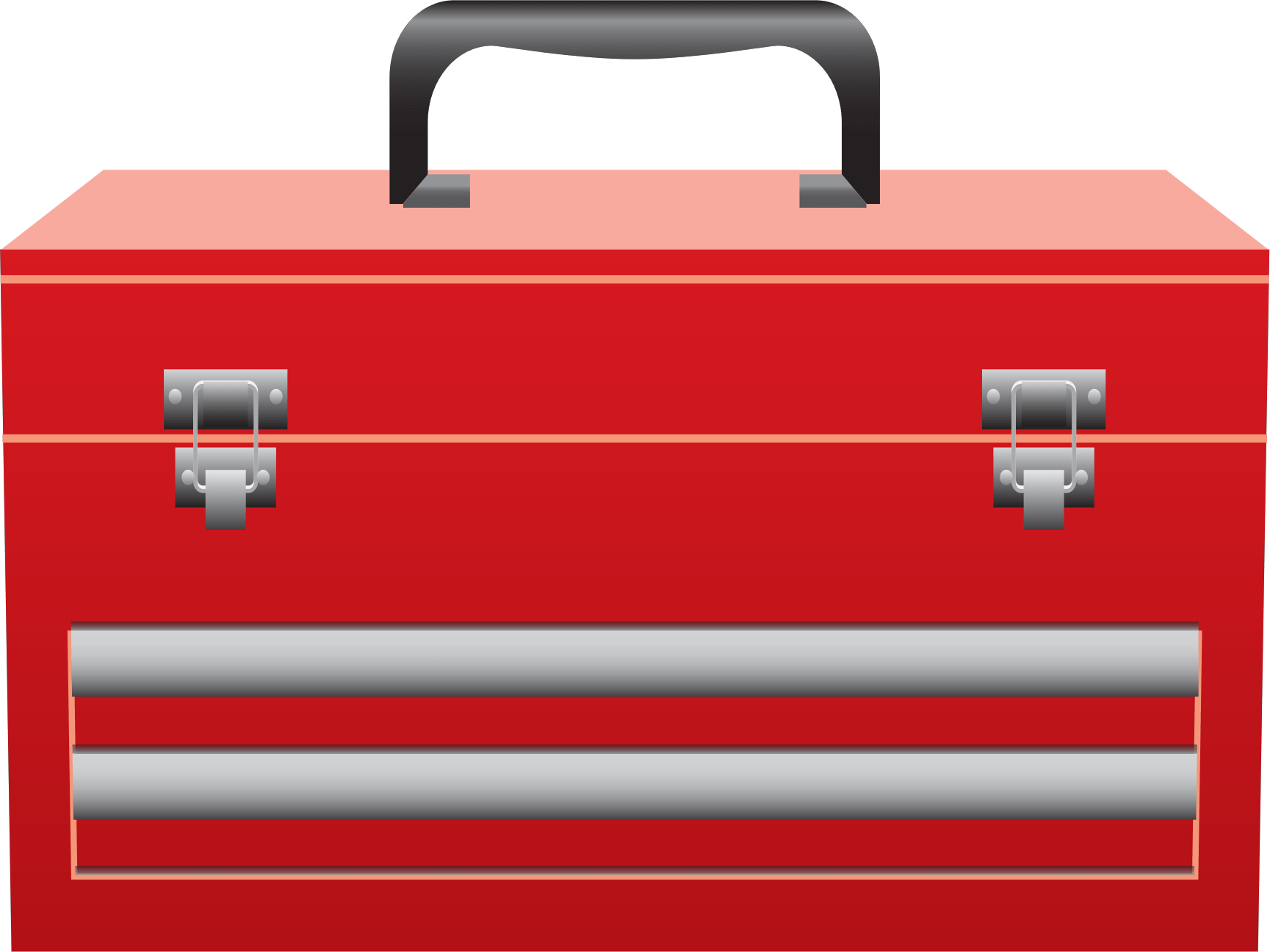 hight resolution of toolbox clipart red tool