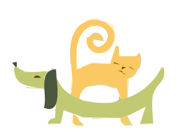 dachshund clip art - illustrations