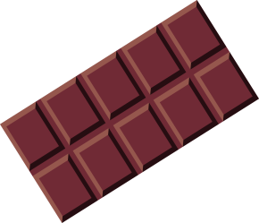chocolate clipart transparent bar candy vector snack pub