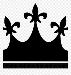 crown clipart silhouette kings getdrawings
