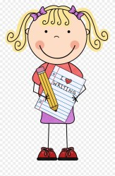 clipart student happy cute