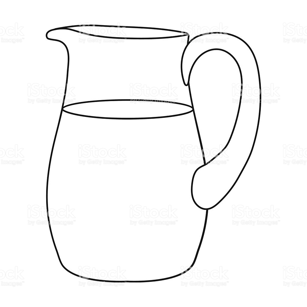 Jug Clipart Black And White Pictures On Cliparts Pub