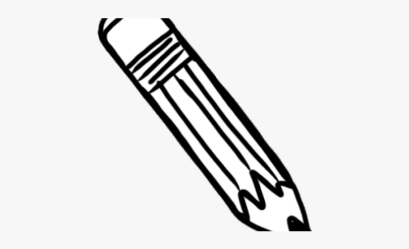horizontal pencil clipart clip