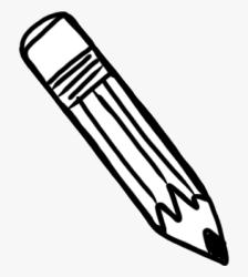 pencil clipart outline clip cliparts
