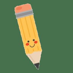 pencil clipart scrapbook cut