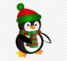 penguin clipart penguins christmas cute transparent background pinclipart