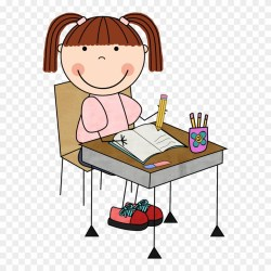 writing student clipart clip