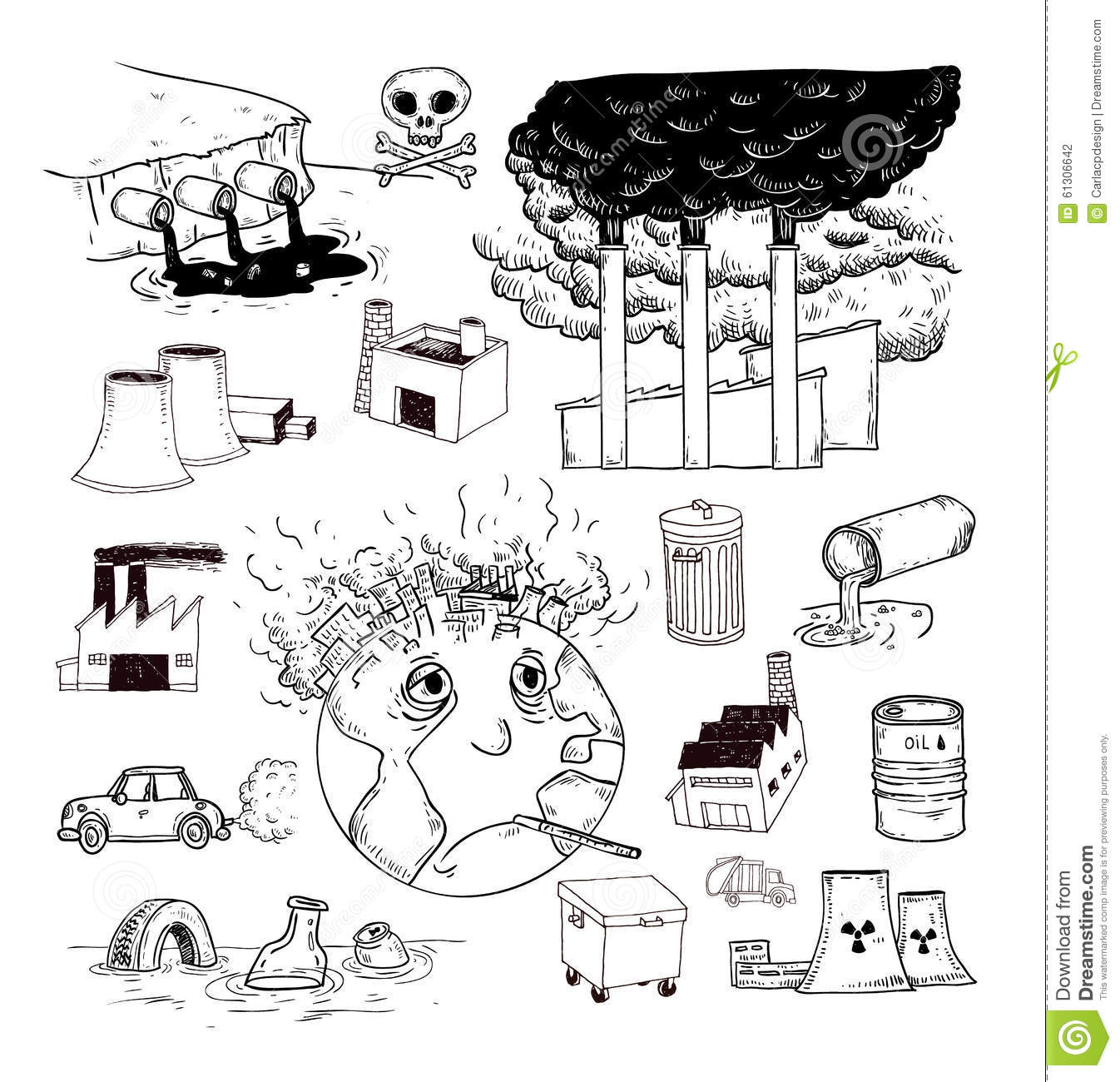 Air Pollution Clipart Black And White 11 Clipart Station
