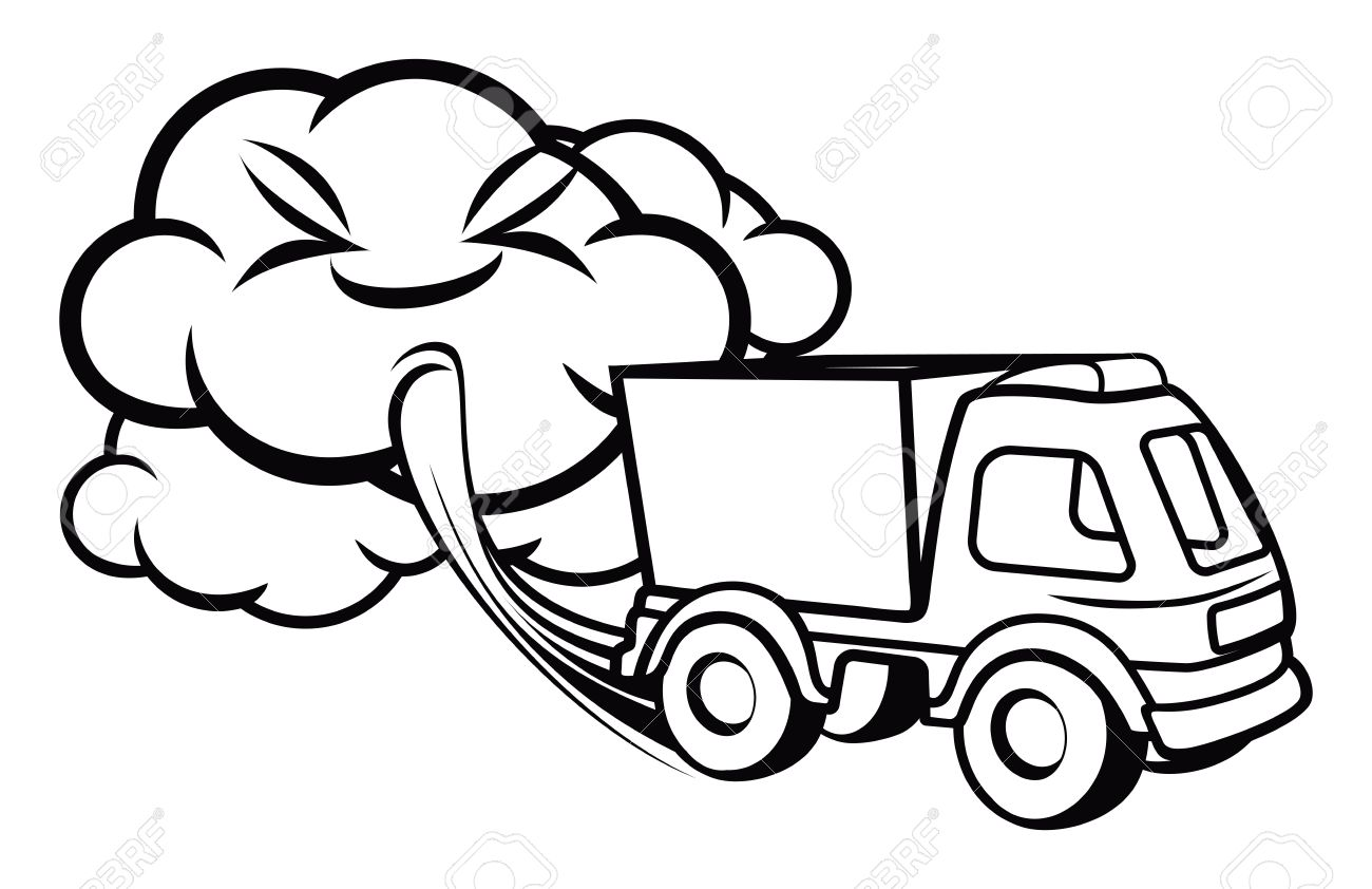 Air Pollution Clipart Black And White 2 Clipart Station