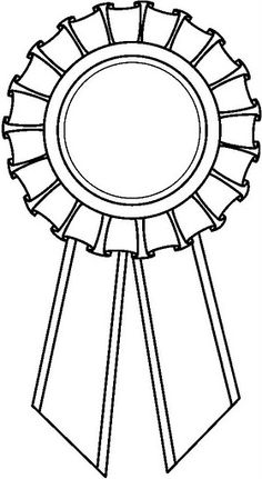 Award ribbon clipart black and white » Clipart Station