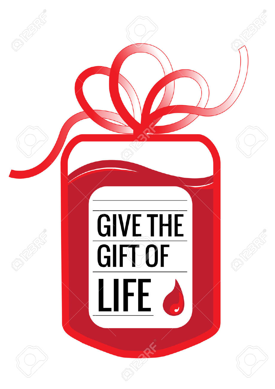 hight resolution of blood donation clipart
