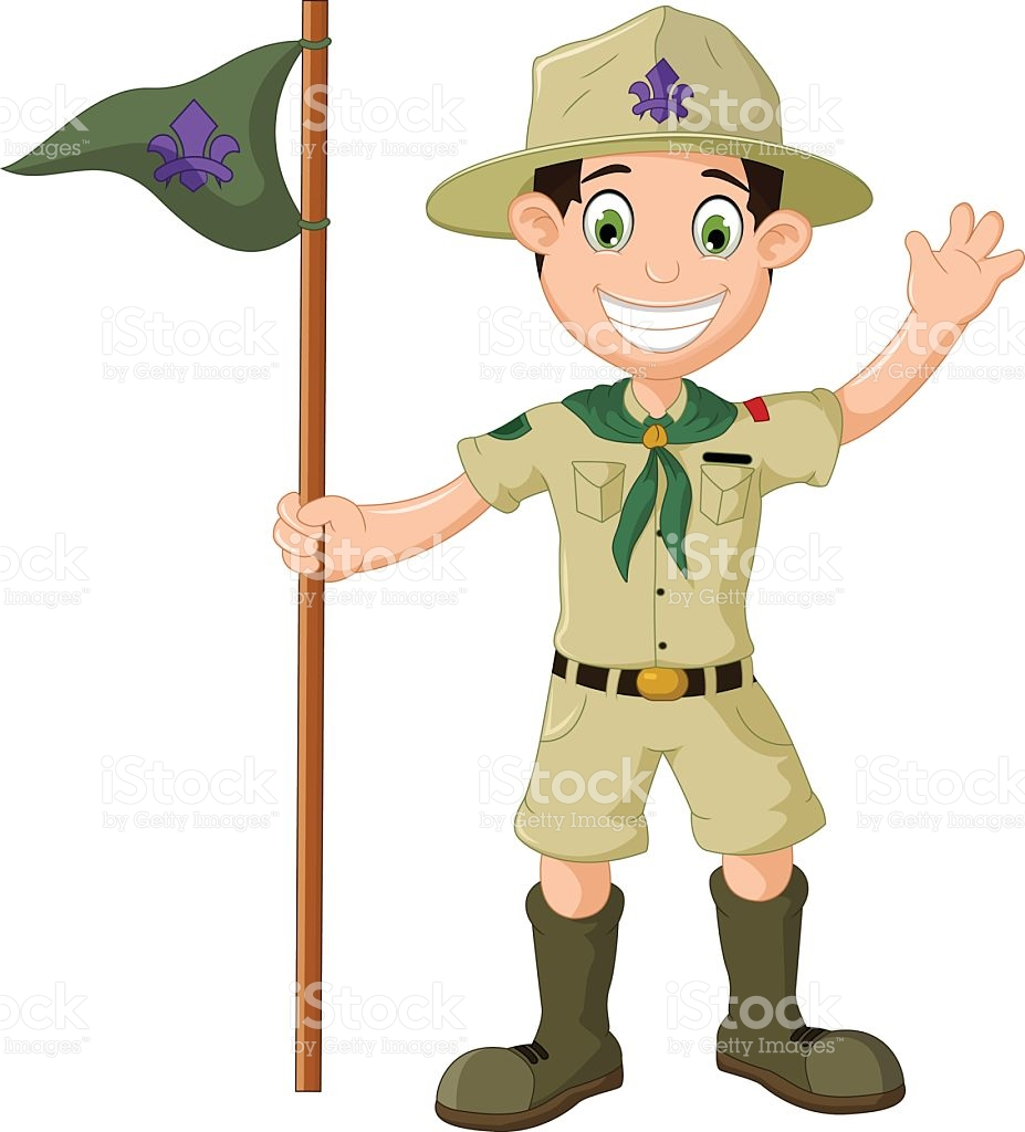 hight resolution of boy scout clipart 10