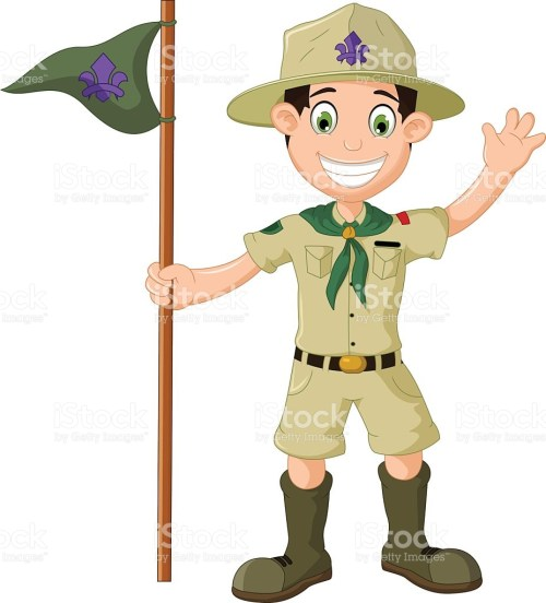 small resolution of boy scout clipart 10