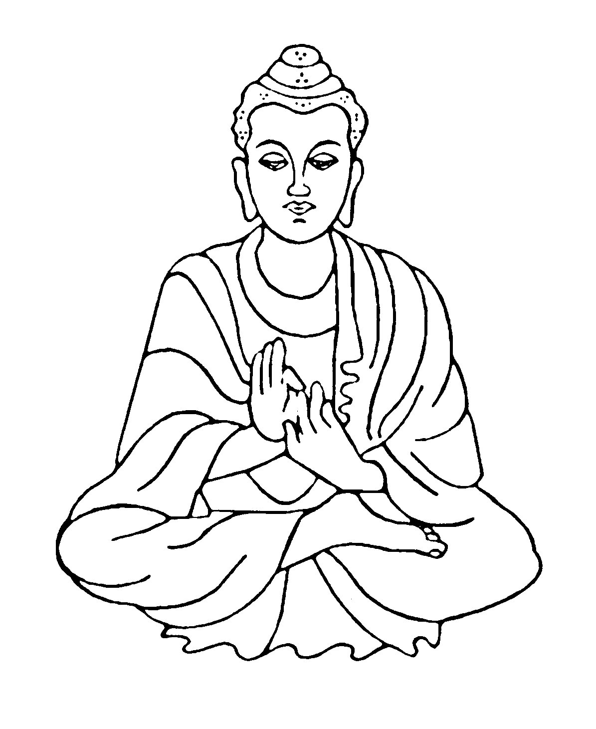hight resolution of buddha clipart 3
