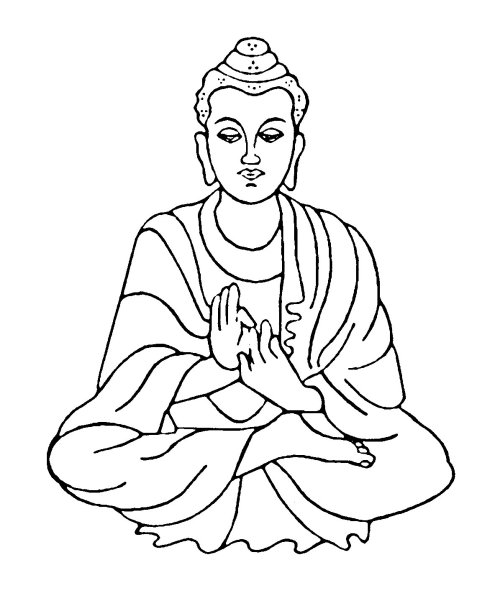 small resolution of buddha clipart 3